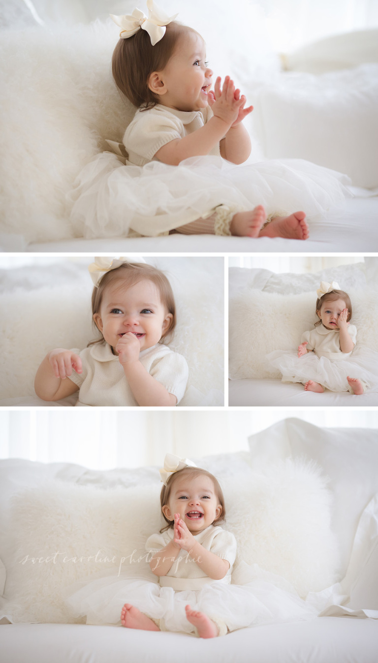 One year old baby girl chattanooga baby photographer sweet caroline photographie