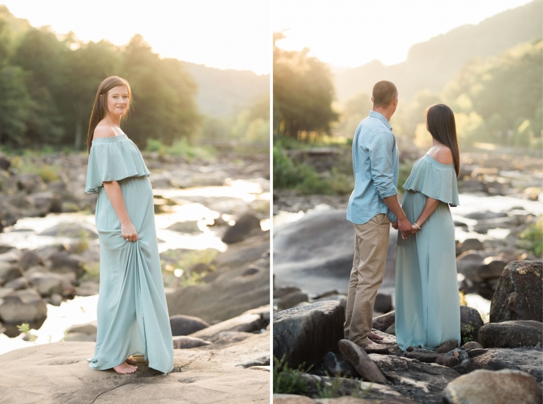 outdoor maternity photos | Sweet Caroline Photographie