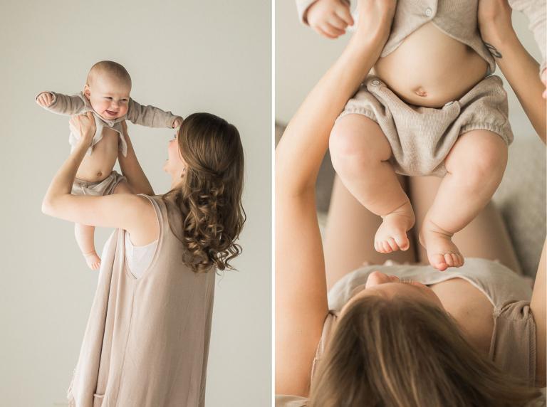 6 Month Baby Photographs | Sweet Caroline Photographie