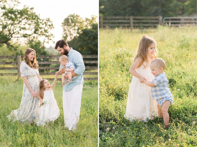 Summer Family Farm Photos | Sweet Caroline Photographie