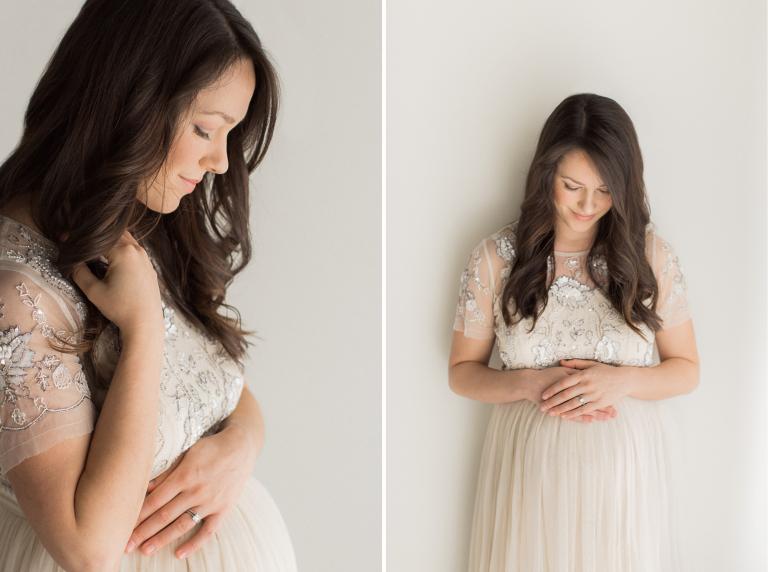 Maternity Studio Photography   Sweet Caroline Photographie